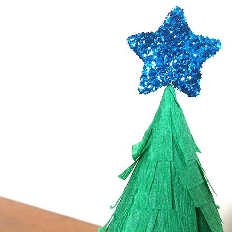 paper tree detail