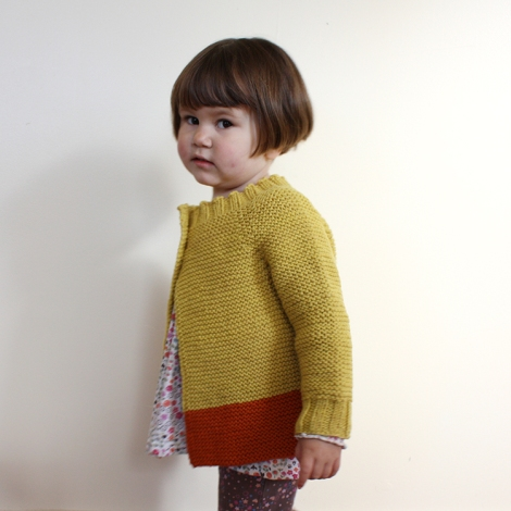 Knitting Pattern For Hamster Jumper : a sweater made from goldenrod yarn hamster and the bee